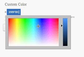 Select colour