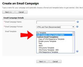 create a responsive template